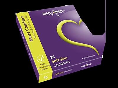 Soft Skin 36 Kondome - More Comfort