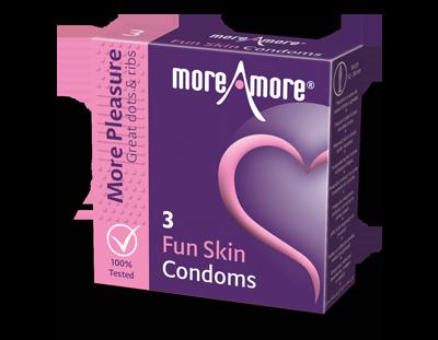 Fun Skin 3 Kondome - More Pleasure