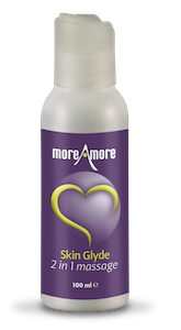 MoreAmore Skin Glyde 2-in-1 massage gel op basis van silliconen