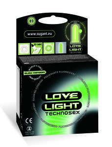 Love Light lichtgevende condooms glow-in-the-dark condooms